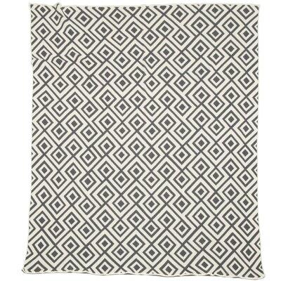 In2Green Eco Designer Mod Squares Throw Blanket