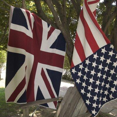 In2Green Union Jack Flag Cotton Throw