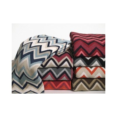 In2Green ZigZag Throw Blanket