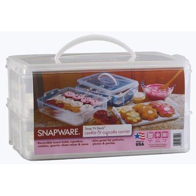 Snapware Two Layer Cupcake Keeper