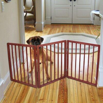 Pet Parade Freestanding Pet Gate