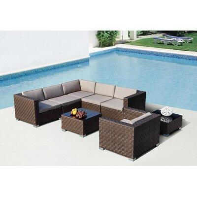 Renava Barbados Sectional Sofa Setting Group by VIG Furniture