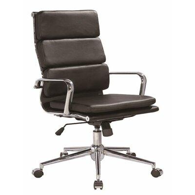 Modrest Edge Modern High-Back Leather Executive Chair by VIG Furniture