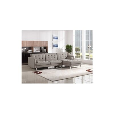 Divani Casa Smith Modern Fabric Sectional Sofa by VIG Furniture