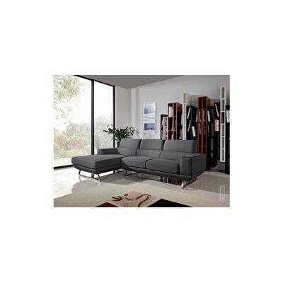 Divani Casa Becket Modern Fabric Sectional Sofa by VIG Furniture