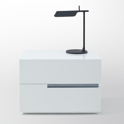 Modrest Polar 2 Drawer Nightstand by VIG Furniture