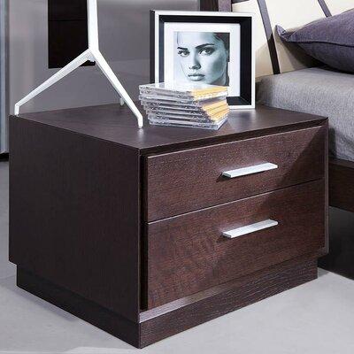 Modrest Prism 2 Drawer Nightstand by VIG Furniture