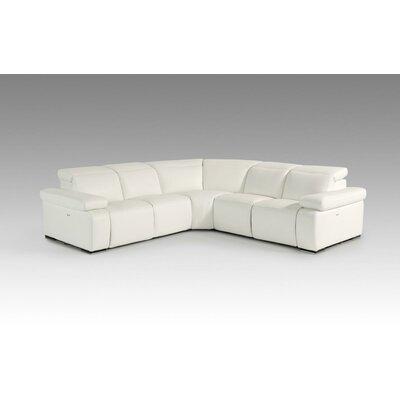 Divani Casa Leather Sectional Sofa by VIG Furniture