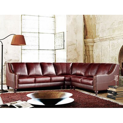 Divani Casa Leather Sectional by VIG Furniture