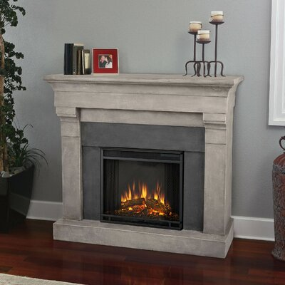 Real Flame Torrence Cast Mantel Electric Fireplace