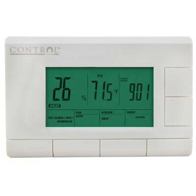 5/1/1-Day Programmable Digital Thermostat Product Photo