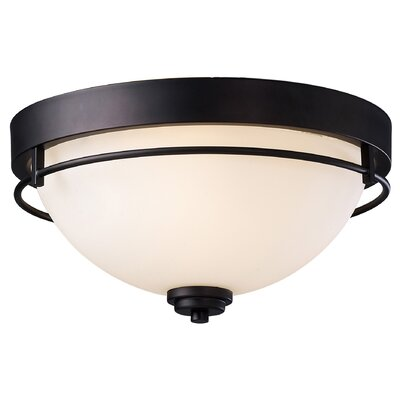 Somerset 3 Light Flush Mount Product Photo