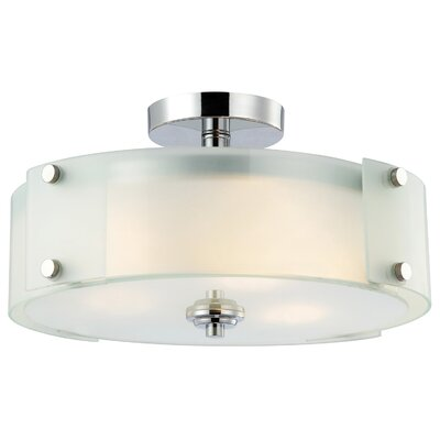 Ryker 3 Light Semi Flush Mount Product Photo