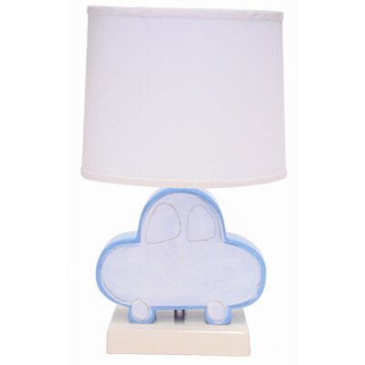 """Alex Marshall Studios Figure 22"""" H Table Lamp with Empire Shade"""