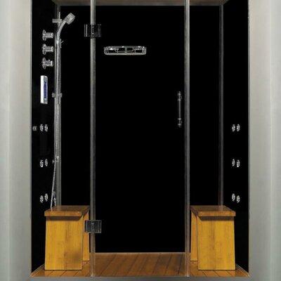 "Royal Care 59"" x 40"" x 84"" Pivot Door Steam Sauna Shower Product Photo"