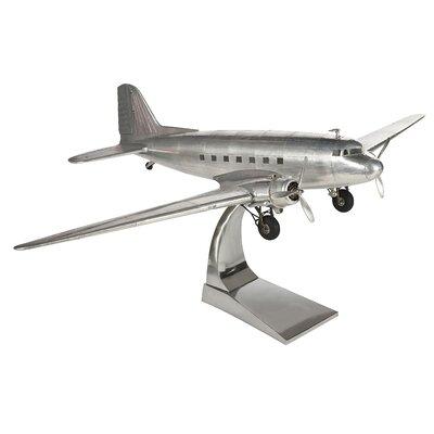 Authentic Models Dakota DC-3 Plane Sculpture