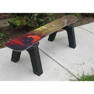 Ski Chair Snow Board Side Table
