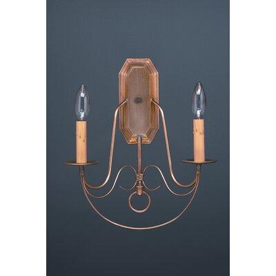Northeast Lantern 2 Light Candelabra Socket Wall Sconce
