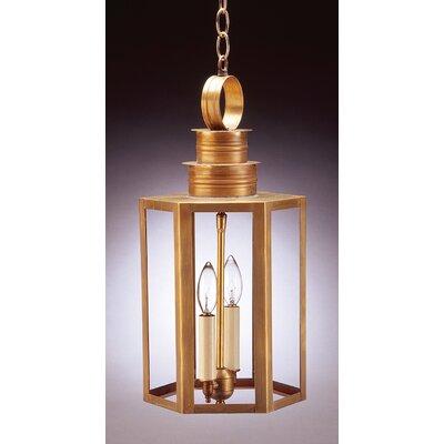 Northeast Lantern Hardwick 2 Light Outdoor Hanging Lantern