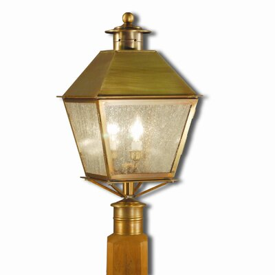 Northeast Lantern Jamestown 2 Light Outdoor Post Lantern