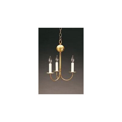 3 Light Candelabra Chandelier by Northeast Lantern