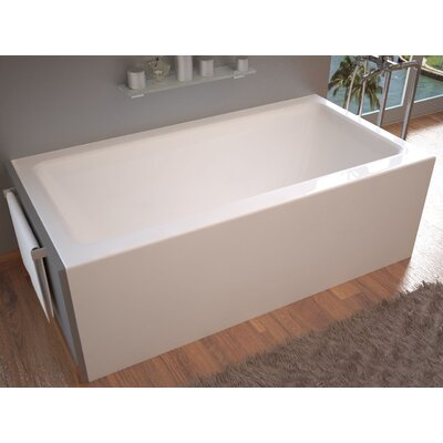 "Castle 60"" x 32"" Front Skirted Air Massage Bathtub with Drain Product Photo"