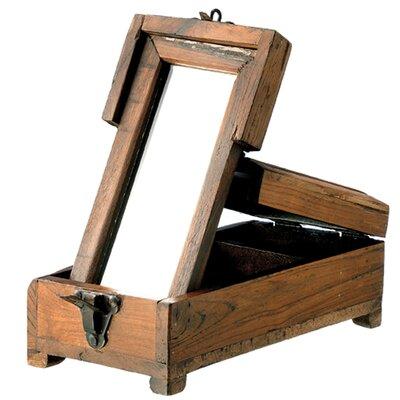 BIDKhome Wood Barber Box