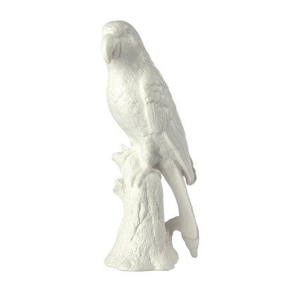 Porcelain Parrot Figurine by BIDKhome