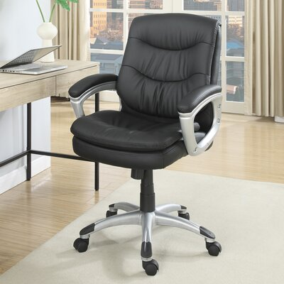 Mid-Back Mesh Task Chair with Arms by Poundex