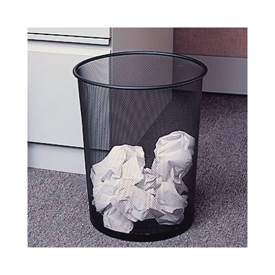 Rubbermaid Commercial Products 5-Gal Round Mesh Wastebasket