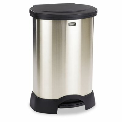Rubbermaid Commercial Products Commercial Step-On 23-Gal Trash Container