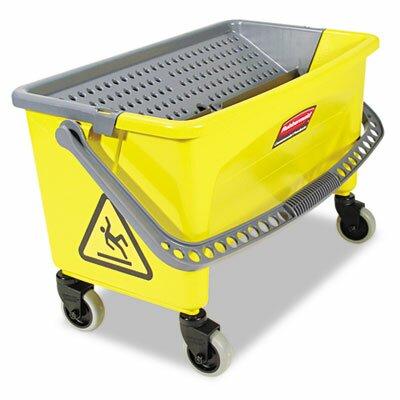 Rubbermaid Commercial Products Commercial Hygen Hygen Press Wring Bucket For Microfiber Flat Mops