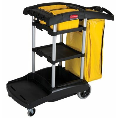 Rubbermaid Commercial Products Rubbermaid Commercial High Capacity Cleaning Cart