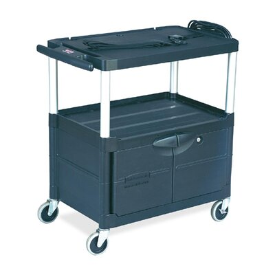 Rubbermaid Commercial Products Audio-visual Utility Cart
