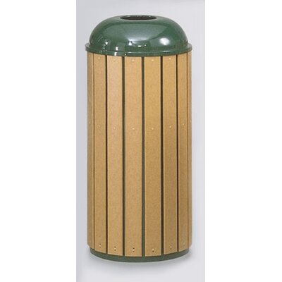 Rubbermaid Commercial Products 22-Gal Regent 50 Series Round Top Waste Receptacle