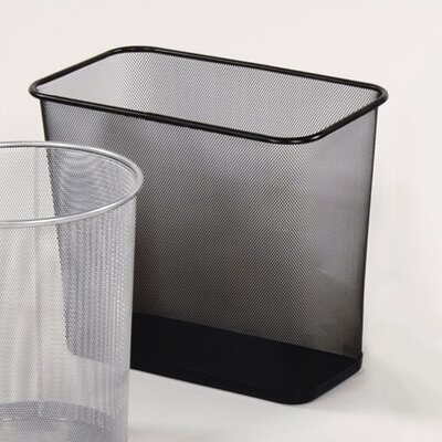 Rubbermaid Commercial Products 7.5-Gal Garbage Receptacle Rectangular Wastebasket