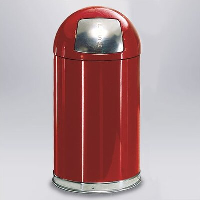 Rubbermaid Commercial Products 12-Gal Small Round Top Waste Receptacle