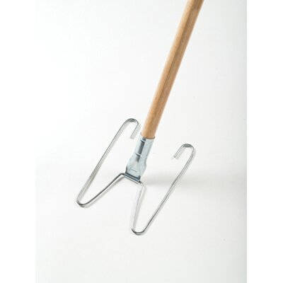 Rubbermaid Commercial Products Wedge System Dust Mop Handle/Frame in Natural / Chrome