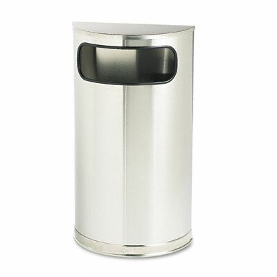 Rubbermaid Commercial Products 9-Gal European & Metallic Series Receptacle