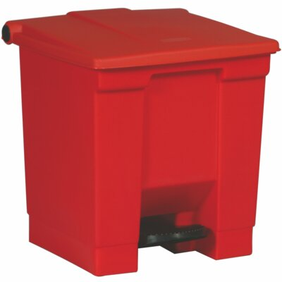 Rubbermaid Commercial Products 8-Gal Step On Waste Container