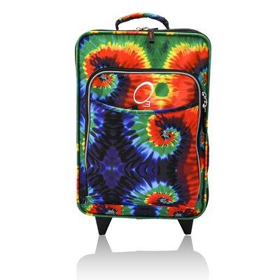 Kids Tie Dye Suitcase by Obersee
