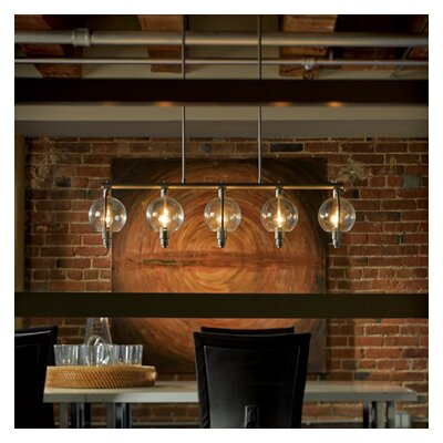 Pluto 5 Light Kitchen Island Pendant Product Photo