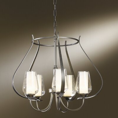 Flora 5 Light Chandelier by Hubbardton Forge