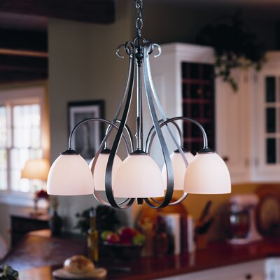 5 Light Chandelier by Hubbardton Forge