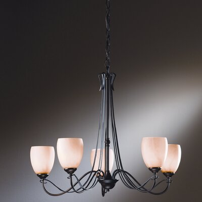Trellis 5 Light Chandelier by Hubbardton Forge