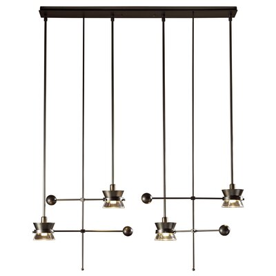 Apparatus 4 Light Pendant by Hubbardton Forge