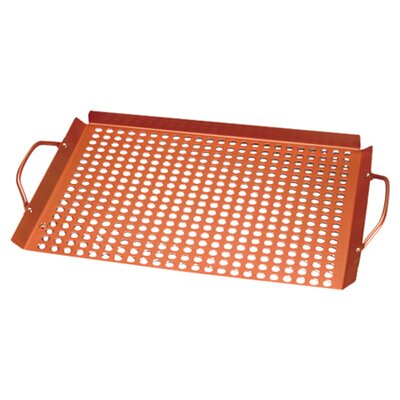 Outset Nonstick Grill Grid Rack with Handles