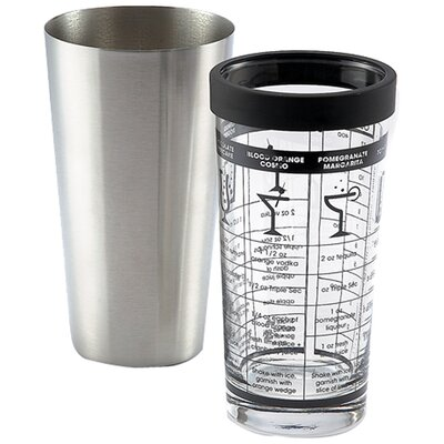 Outset Boston Shaker with Recipes