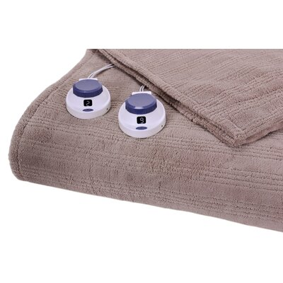 Triple Rib Electric Heated Warming Blanket by Perfect Fit Industries