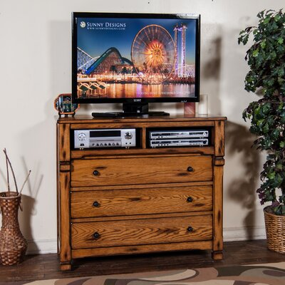 Sedona 3 Drawer Media Chest by Sunny Designs